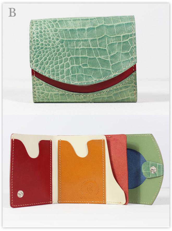 小さい財布 メロンボール:B