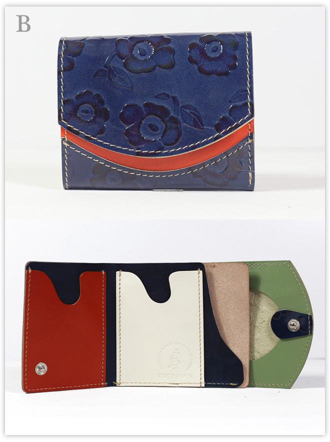 小さい財布 アサガオ:B
