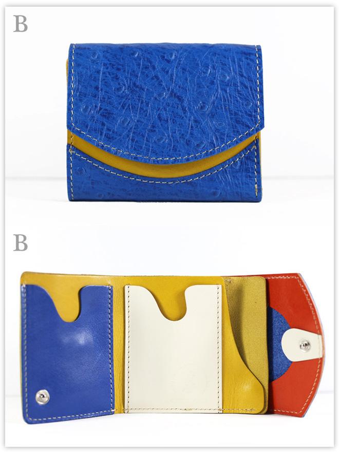 小さい財布 クジャク:B