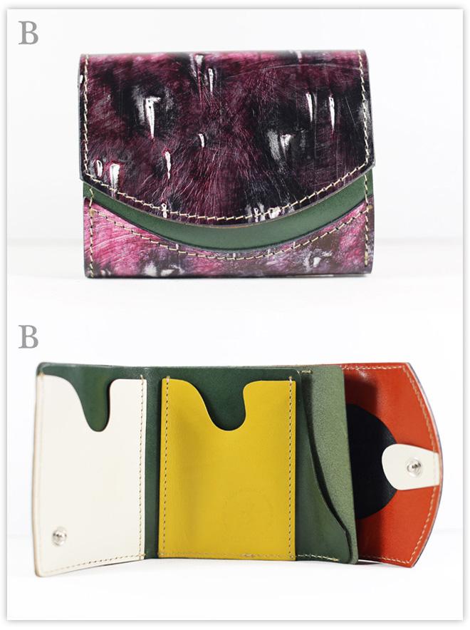 小さい財布 パターテヴィオーラ:B