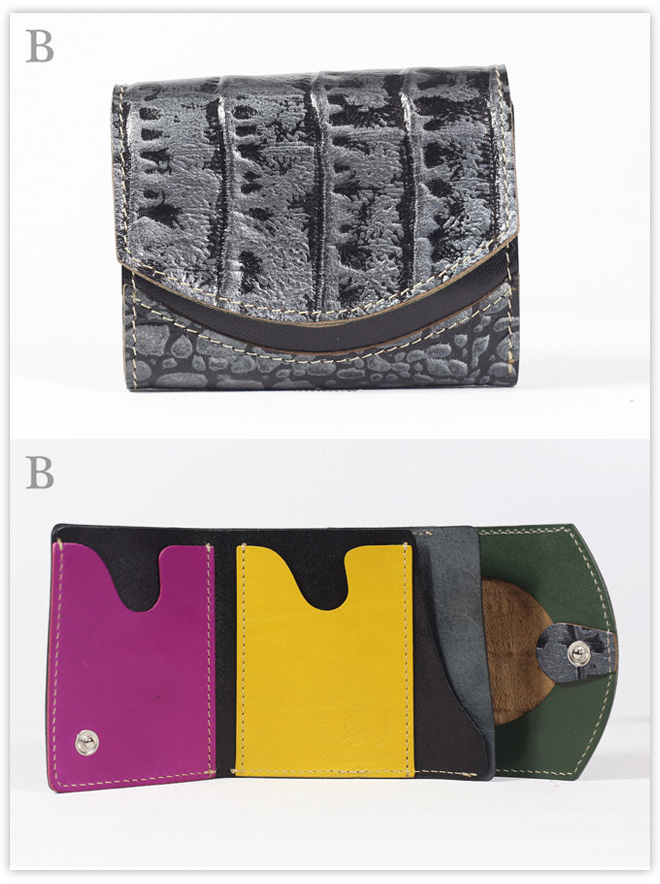 小さい財布 ピエトラの盾:B