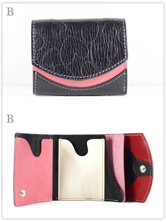 小さい財布 黒いハートの女王:B