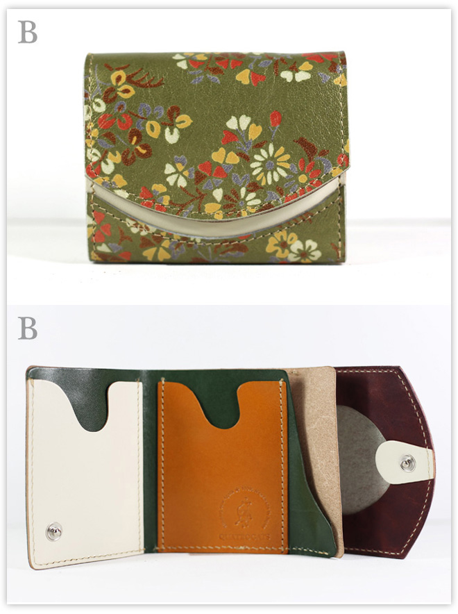 小さい財布 お庭:B