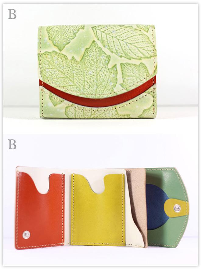小さい財布 モチーフdeひらめき:B