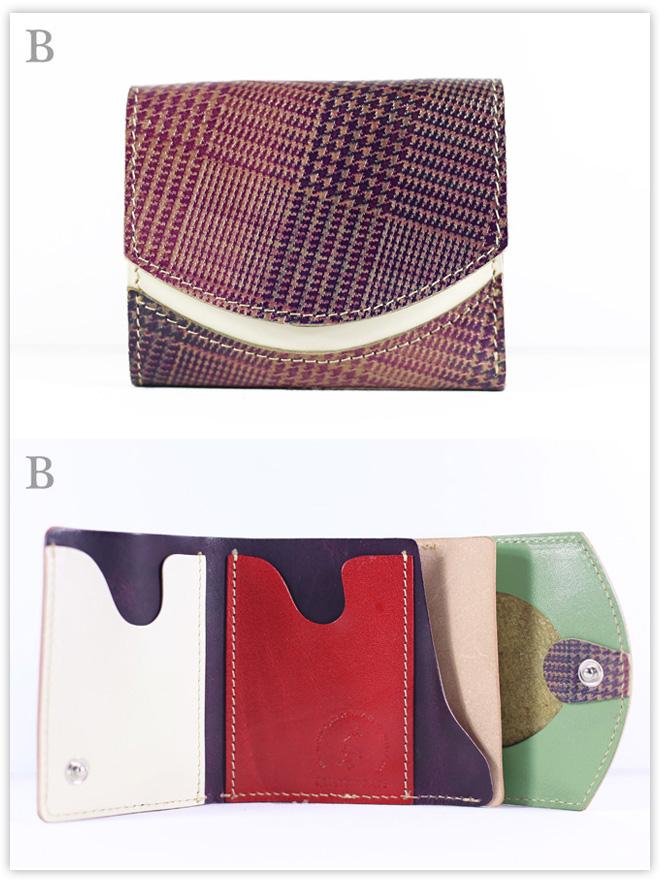 小さい財布 ユーロ・トラッド:B