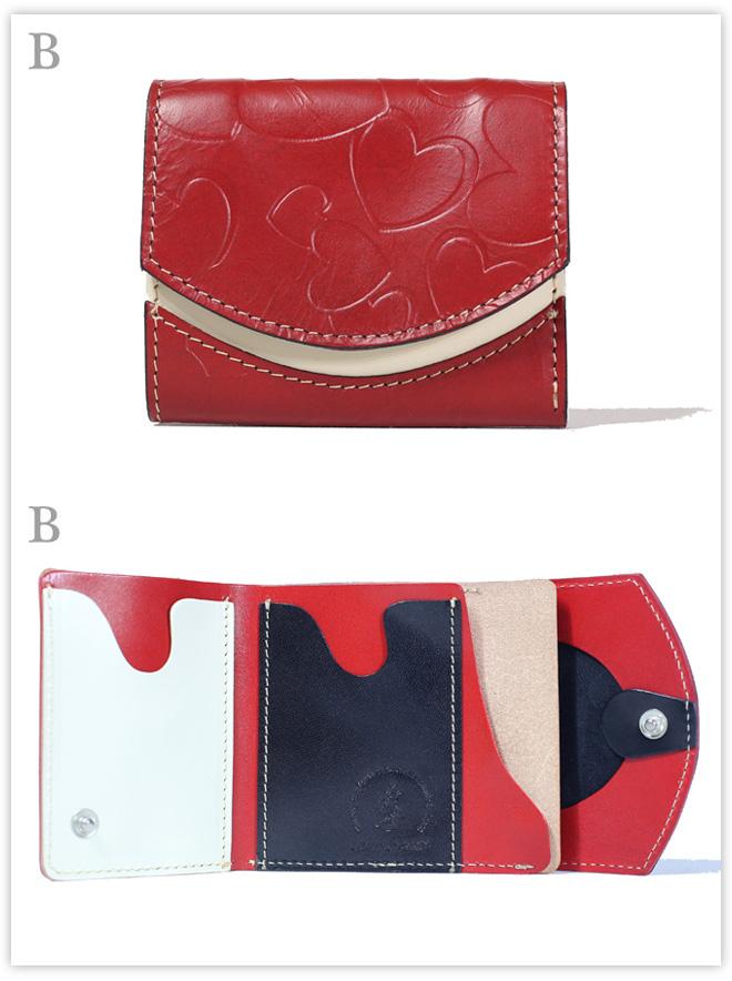 小さい財布 ブーケ:B