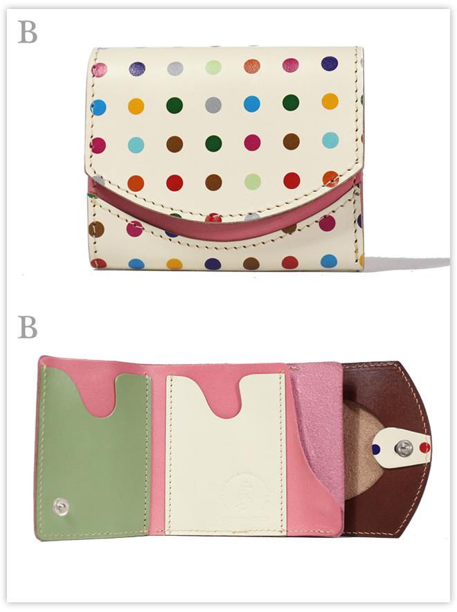 小さい財布 ポップコーン:B