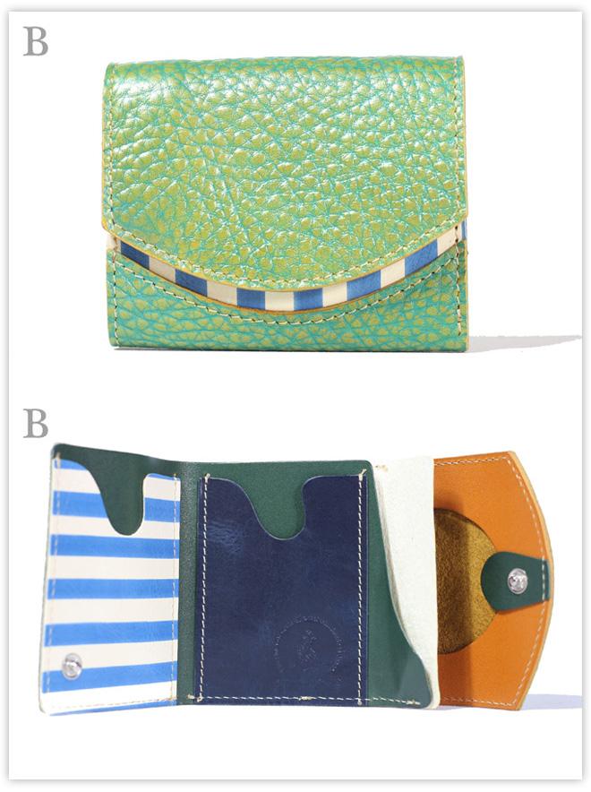 小さい財布 シャインマスカット:B