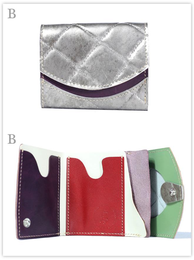 小さい財布 ステッチスペシャル:B