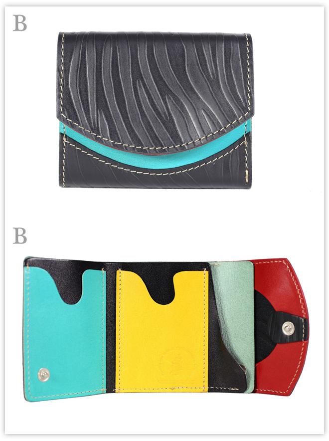小さい財布 Ombre:B