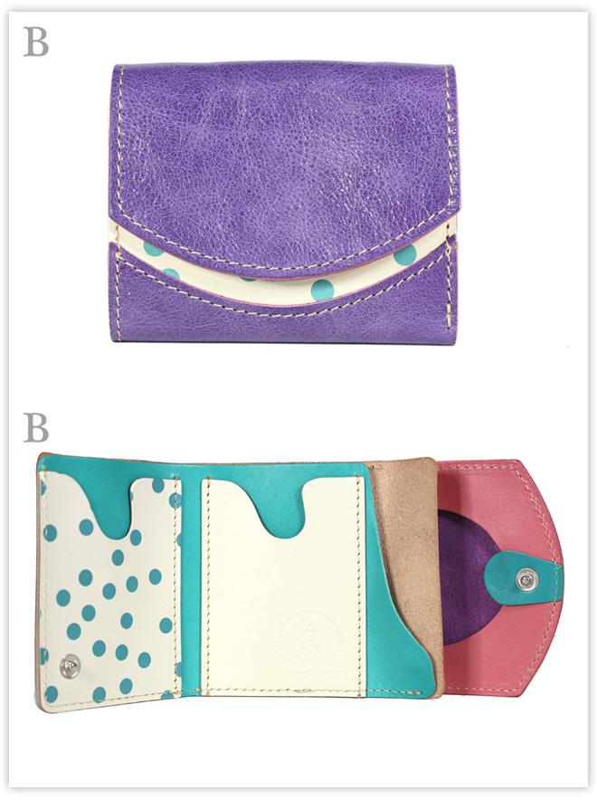 小さい財布 ブルーベリータルト:B