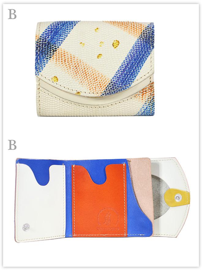 小さい財布 パッチワークde銀世界:B