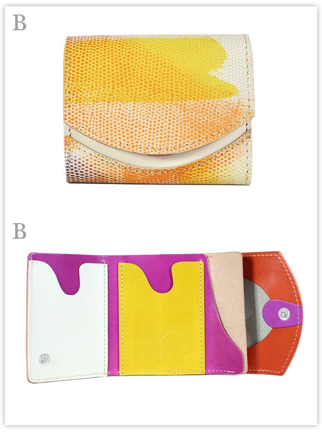 小さい財布 シャボン玉:B