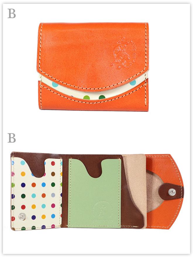小さい財布 こたつねこみかん:B