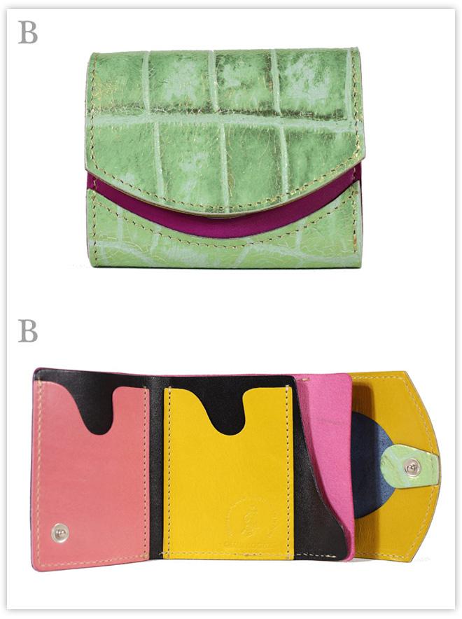 小さい財布 Cracked glass:B