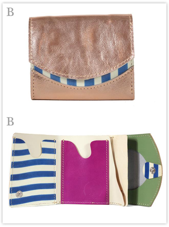 小さい財布 kira*yuki:B