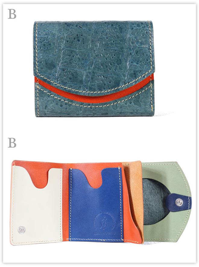 小さい財布 秋色アジサイ アドレア:B