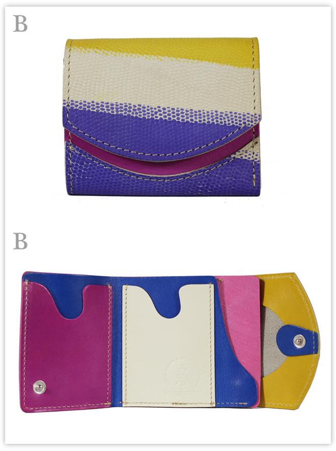 小さい財布 紫の空:B