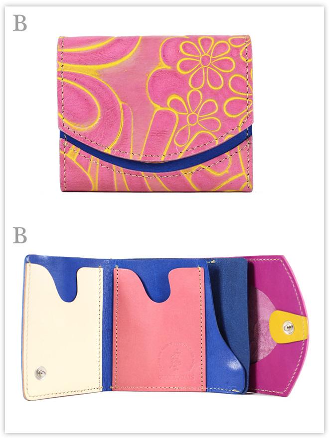 小さい財布 Plumeria:B