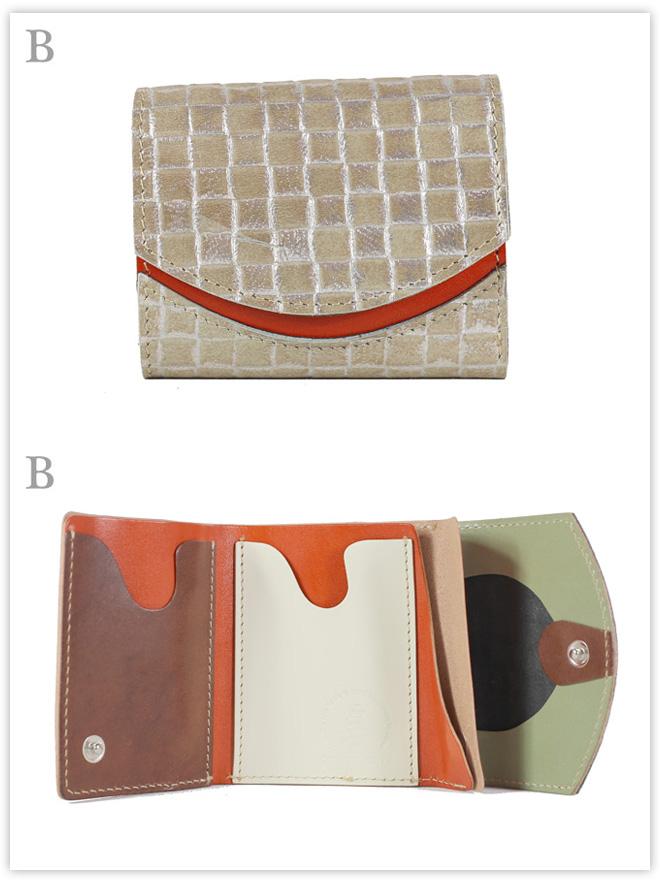 小さい財布 サテンリボン:B