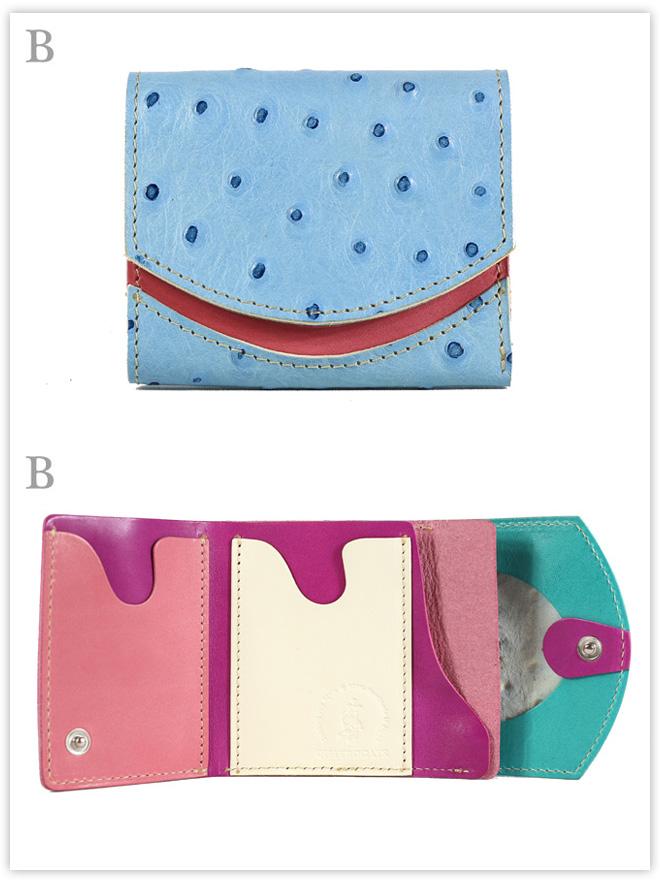 小さい財布 ブルーベリーチーズ:B