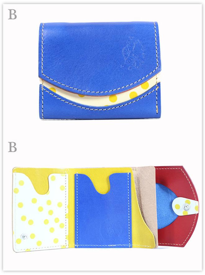 小さい財布 ポップコーンの春:B